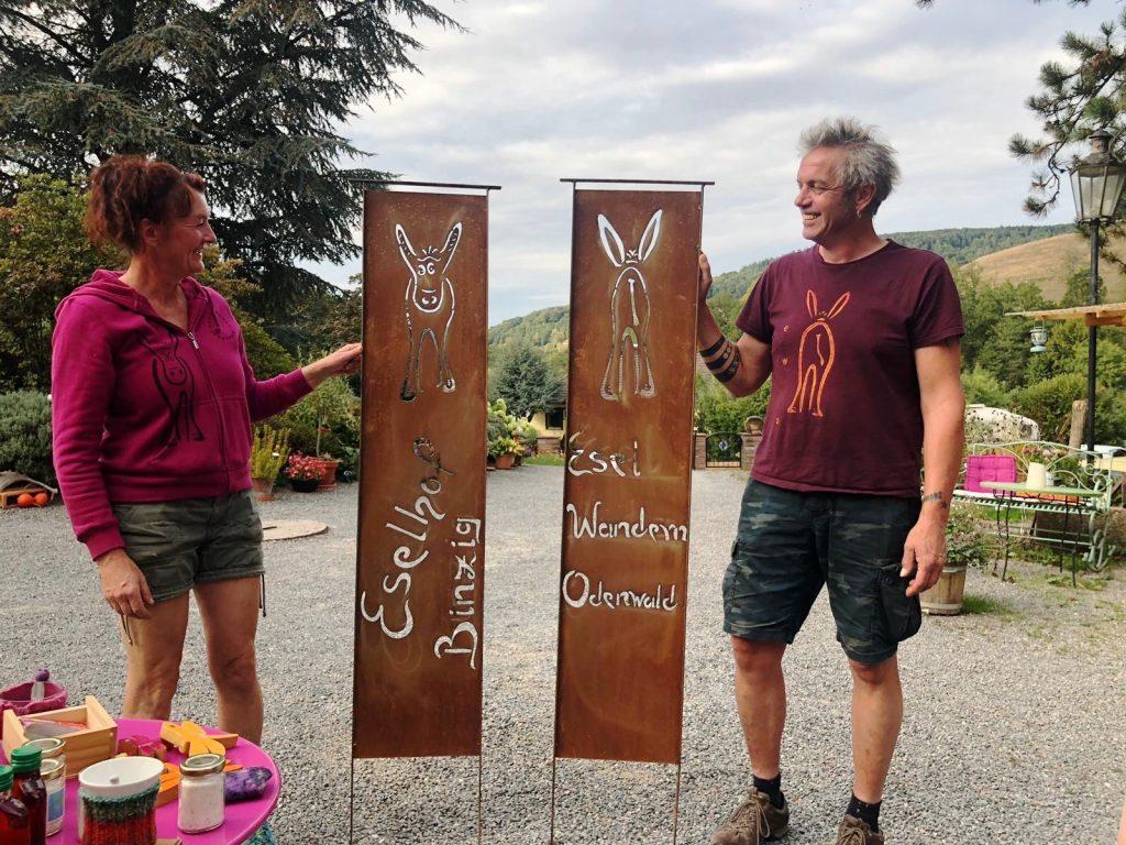 EWO Eselwandern Odenwald - Eselhof Binzig